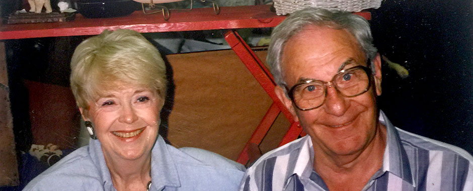 Mary and Dick Wilmarth of Wilmarth's Antiques