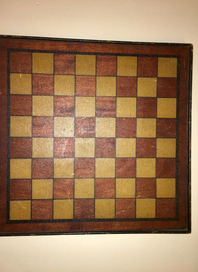 Early American antique game board