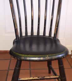 Set of 6 Tablet-back Windsor chairs