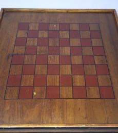 Checker-Chess game board